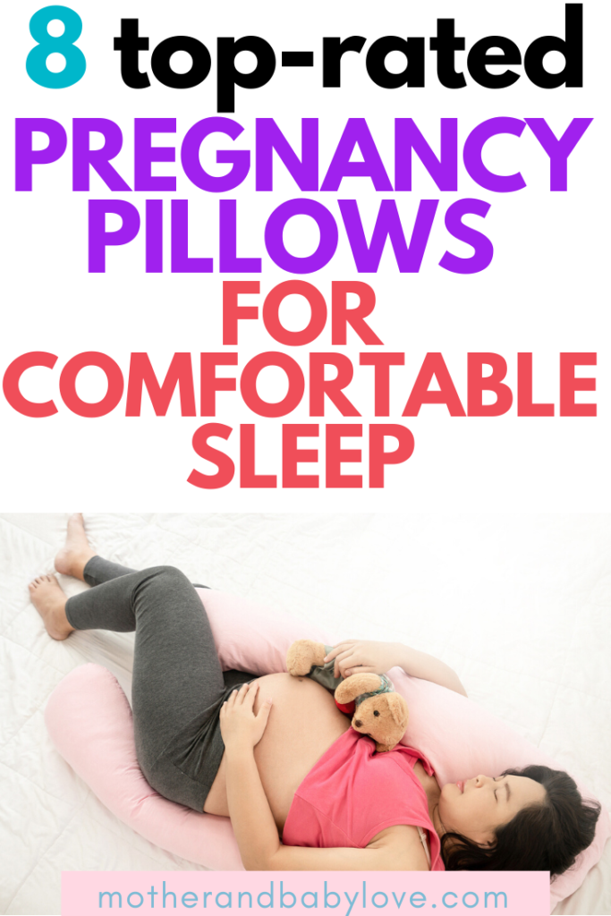 top-rated pregnancy pillows for comfortable sleep