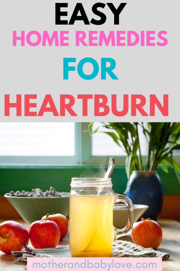 Easy home remedies for heartburn