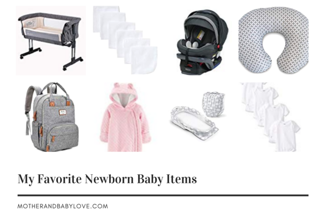 my favorite baby items for first week