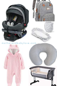 best newborn baby items for baby's first week