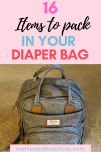 what to pack in your diaper bag (16 diaper bag essentials and more )