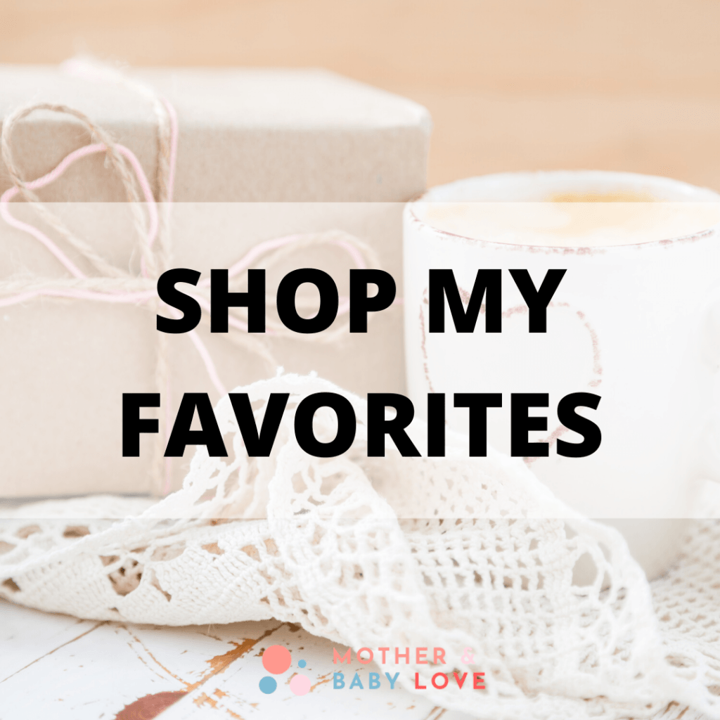 shop my favorite pregnancy and baby items