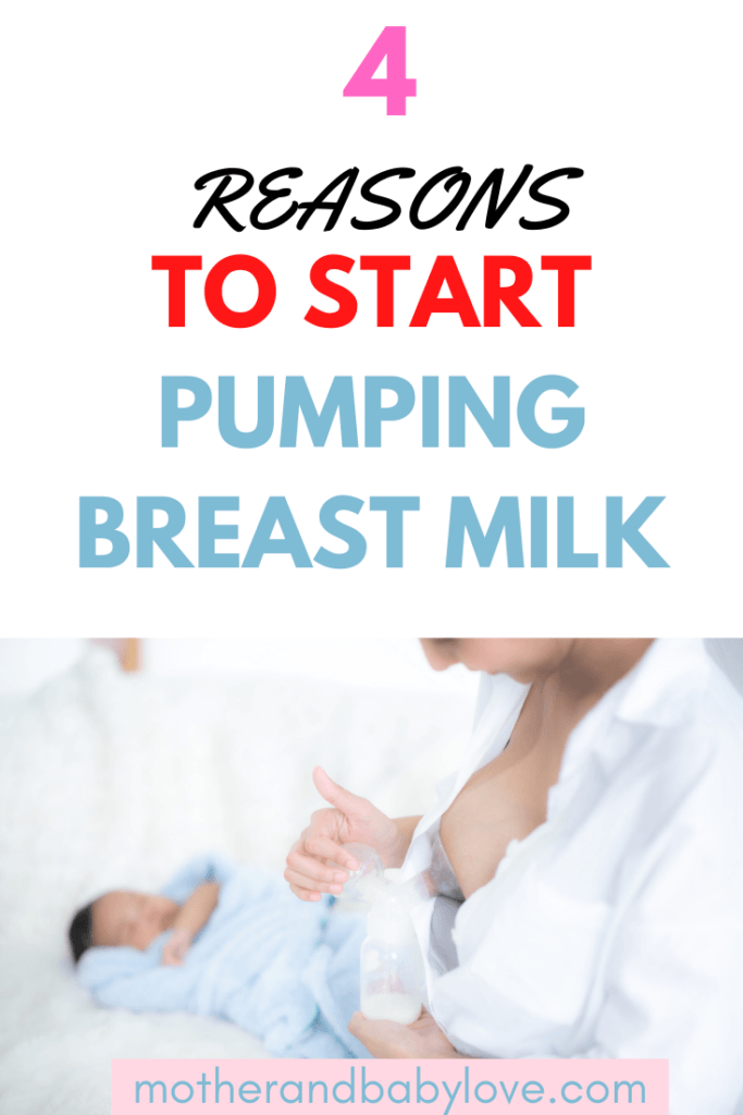 reasons for pumping breast milk