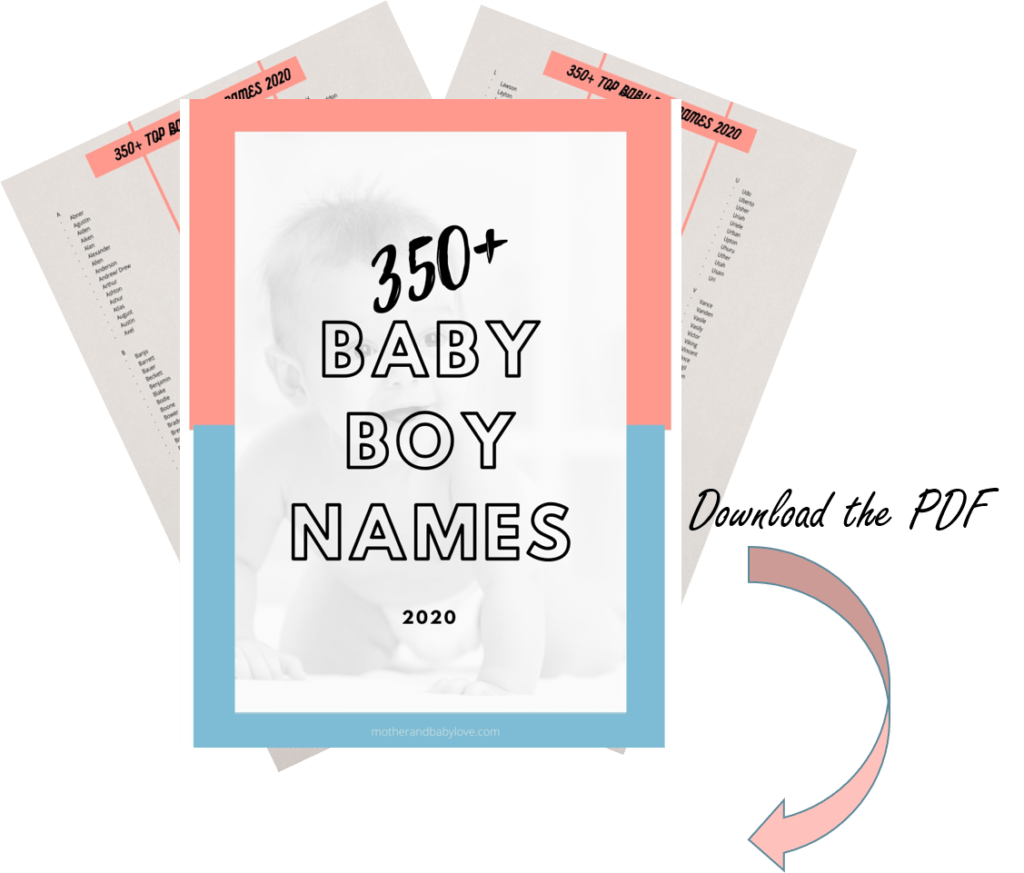 baby boy names list 2020- unique, short, traditional, uncommon and cute baby names