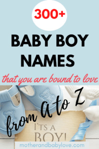 baby names for boys
