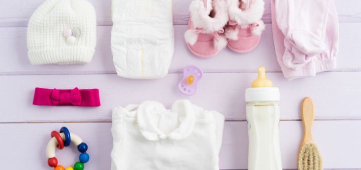newborn baby essentials checklist and printable
