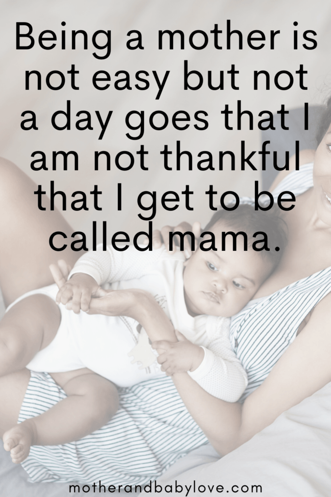 Inspirational Motherhood quote graphic