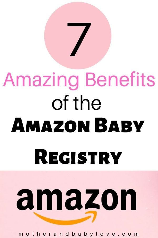 7 Amazing benefits of the amazon baby registry - a review