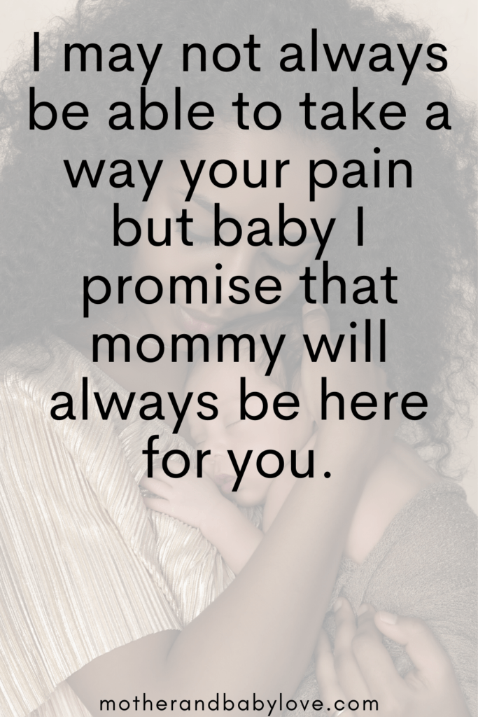 Mommy will always be here for you quote #mommyquote #inspiringmotherhoodquotes