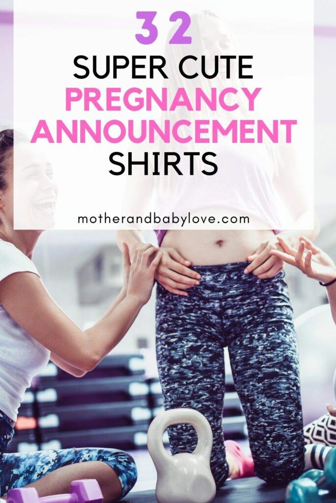 32 super cute pregnancy announcement t-shirts for the pregnant mommy  and daddy to be