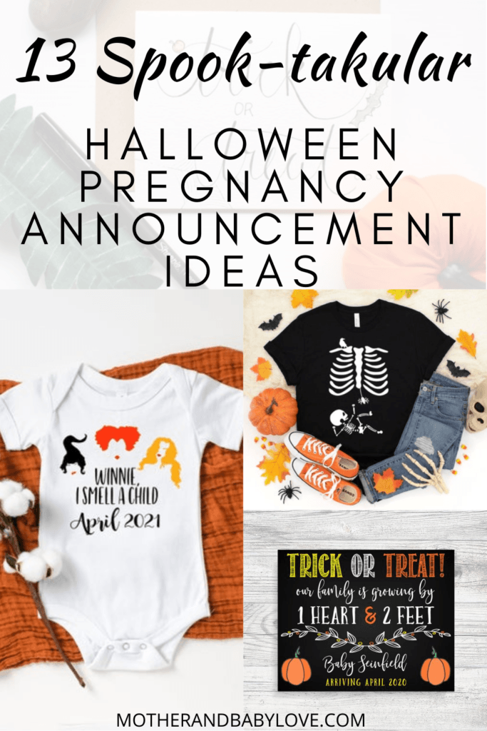The best spook-takular Halloween pregnancy reveal ideas