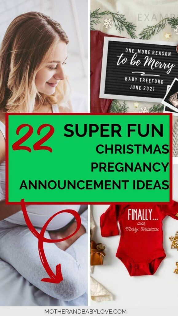 22 super fun pregnancy announcement ideas to reveal your winter pregnancy this Christmas