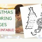 free christmas printable coloring pages and sheets