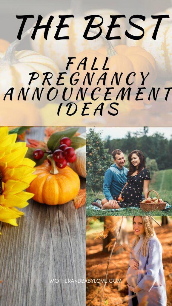 The best fall pregnancy announcement ideas